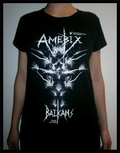 amebix balkans t-shirt woman