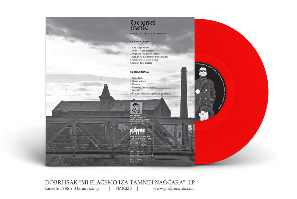 dobri isak lp vinyl red